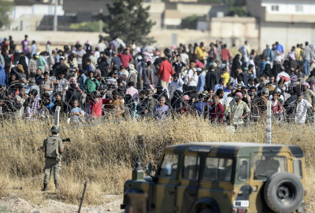 ET SI L'AFRIQUE ACCUEILLAIT DES REFUGIESSYRIENS?